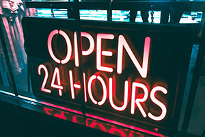 Small business Open 24hrs img