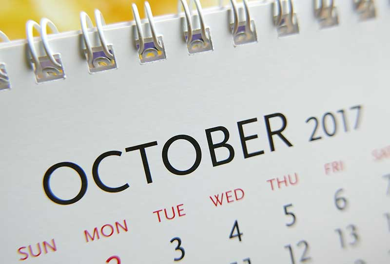 What's Happening in October in Victoria