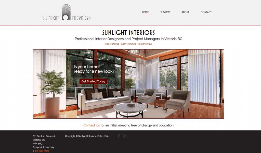 sunlight interiors main page